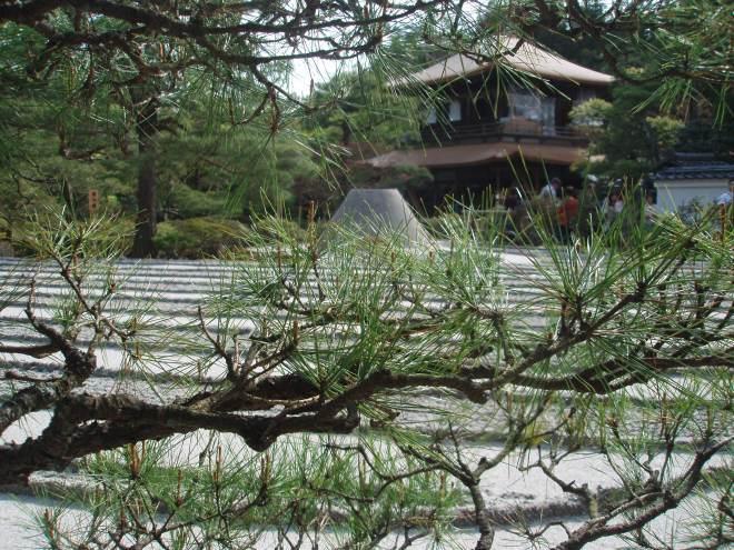 Zen garden at Ginjaku-Ji