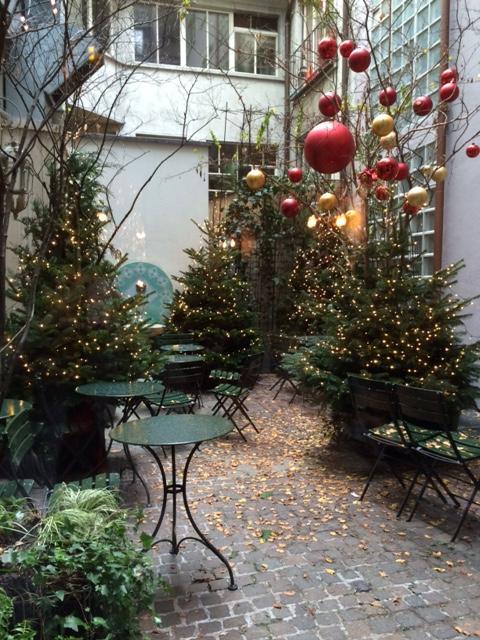 Garden at Café Schober, Zurich