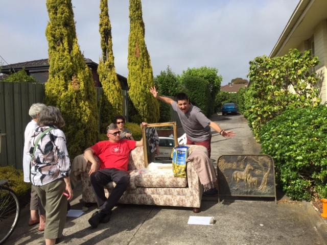 Full on sofa spruiking