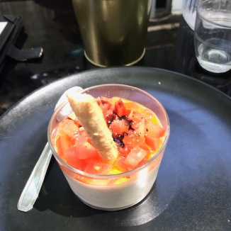 Goats Cheese Panna Cotta